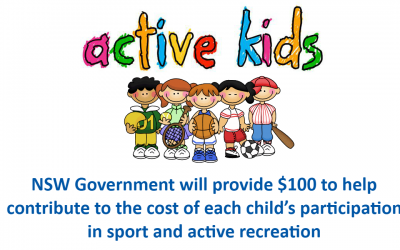 Active Kids $100 Voucher