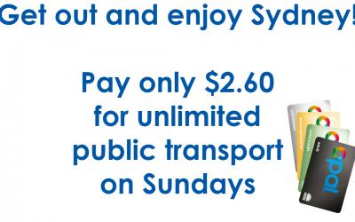 Public Transport Sundays