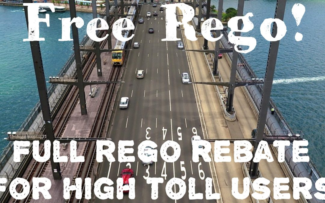 Rego Rebate for High Road Toll Users